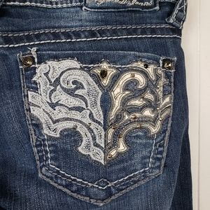 Hydraulic Jeans - HYDRAULIC Gramercy Embroidered Jeans Size 2